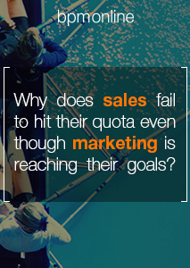 Free eBook - Why does sales fail to hit their quota even though marketing is reaching their lead generation goals?