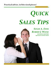 Quick Sales Tips eBook Cover