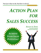 Action Plan For Sales Success - Sales Training & Coaching eBook Cover