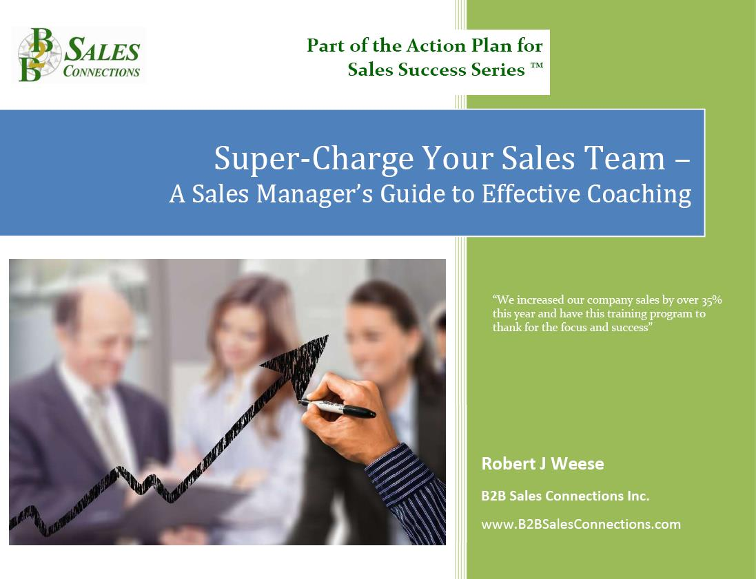 Supercharge Your Sales Team  A Sales Manager's Guide To Effective Coaching